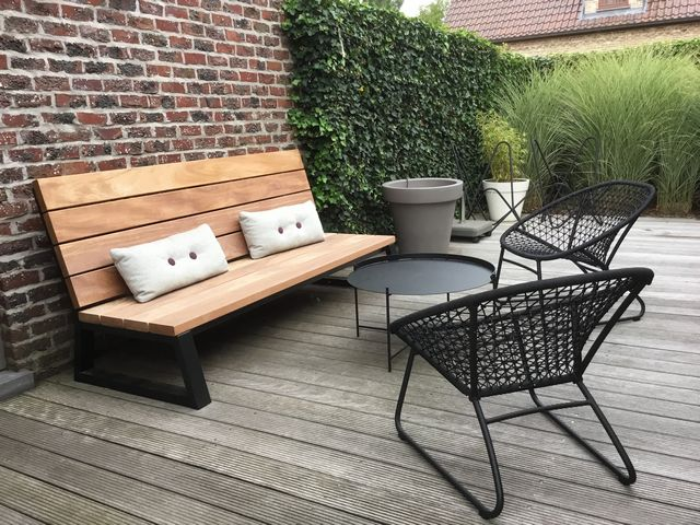 Loungebank hout