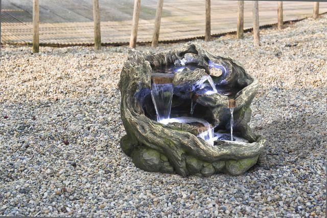Waterornament met verlichting