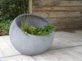 Waterornament met planten