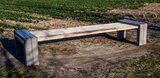 Tuinbank beton