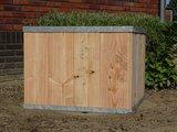 Plantenbak hout staal