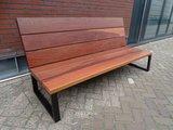 Loungebank hout