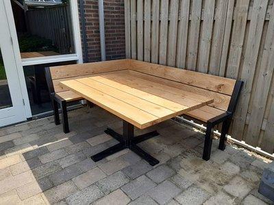 Tuintafel TW Rotterdam - Eikenhout