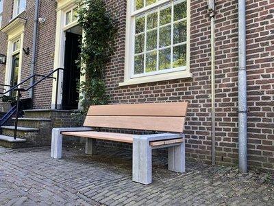 Tuinbank TW Steenwijk - Hardhout