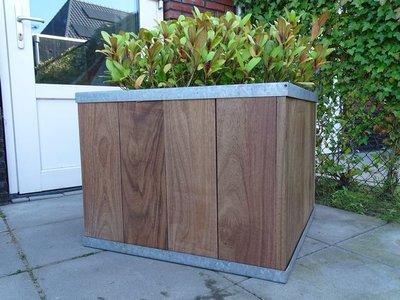 Plantenbak TW Box - Hardhout
