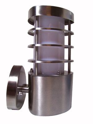 Grundig RVS Wandlamp - 60W