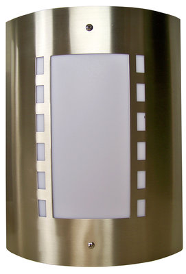 RVS Wandlamp - 40W Design 1