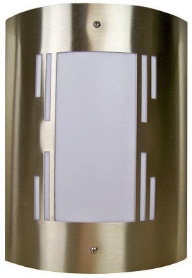 RVS Wandlamp - 40W Design 2