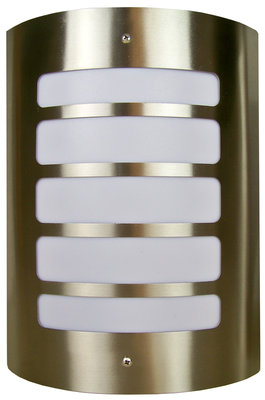 RVS Wandlamp - 40W Design 3