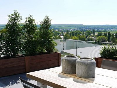 Plantenbak TW FENCE - Hardhout