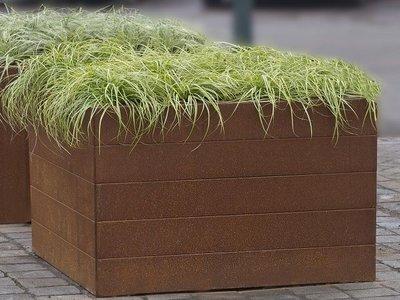 Plantenbak Modulair - Cortenstaal