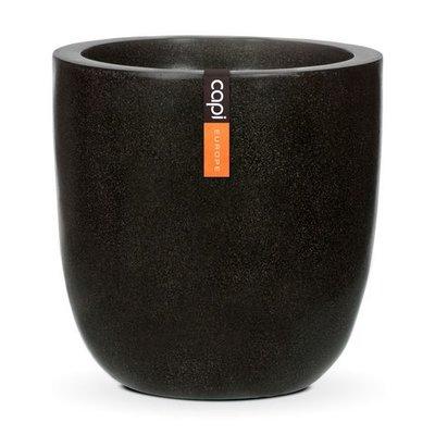 Capi Lux bolvormige pot - zwart