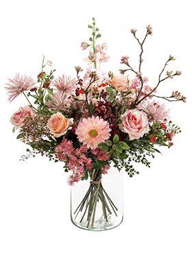 Kunstbloem - Bouquet mistic summer