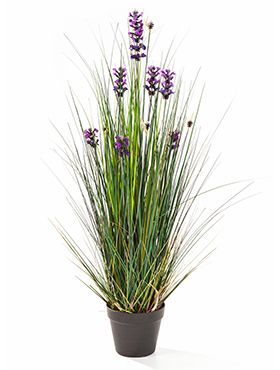 Kunstplant - Lavender grass