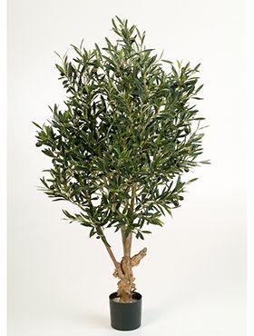 Kunstplant - Natural twisted olive