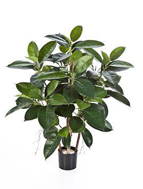 Kunstplant - Rubber plant