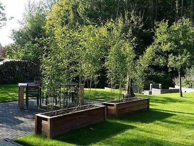 Plantenbak TW Rechthoek - Hardhout