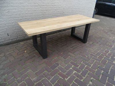 Tuintafel TW Utrecht - Eikenhout