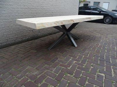 Tuintafel TW Zwolle - Boomstam