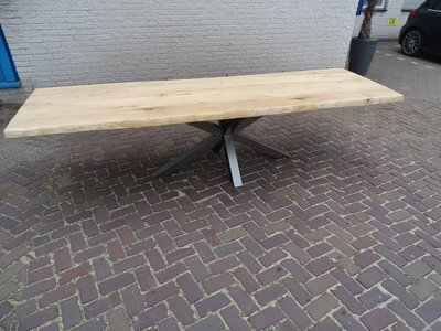 Tuintafel TW Zwolle - Rustiek eiken
