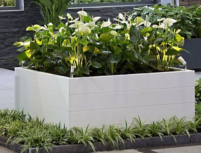 Plantenbak Modulair - Wit
