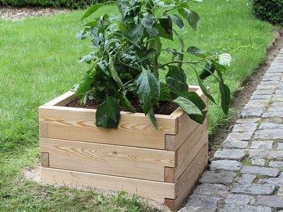 Modulaire plantenbak - hout