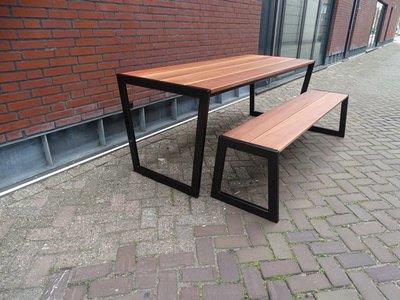 Tuintafel TW Tilburg - Hardhout