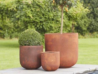 Corten plantenpot
